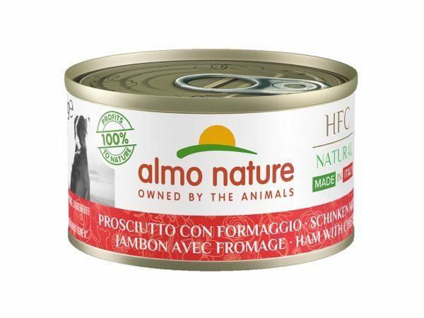 HFC Dogs 95g Natural - Ham met parmezaan
