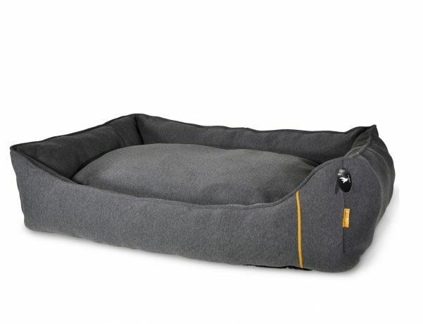 Hondenmand Ghio grijs 110x80x25cm