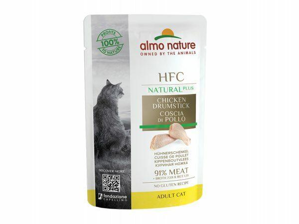 HFC Cats 55g Natural Plus - Kippenbout