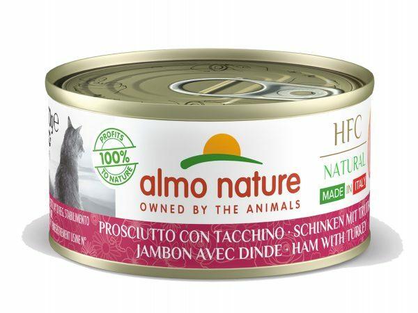 HFC Cats 70g Natural - Ham en kalkoen