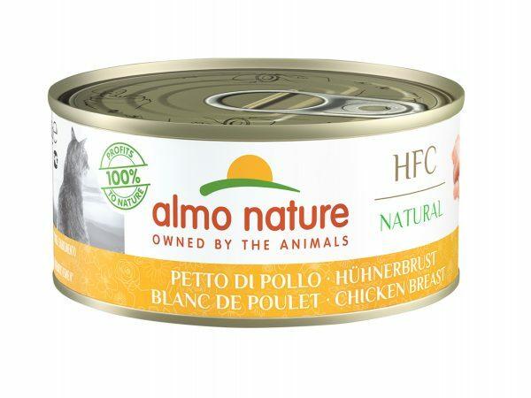 HFC Cats 150g Natural - Kippenborst