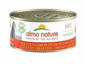 HFC Cats 150g Natural - Kip met garnalen