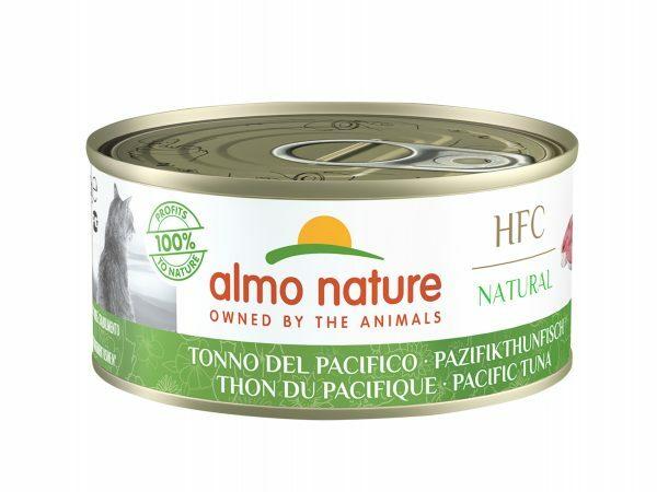 HFC Cats 150g Natural - Pacifische tonijn