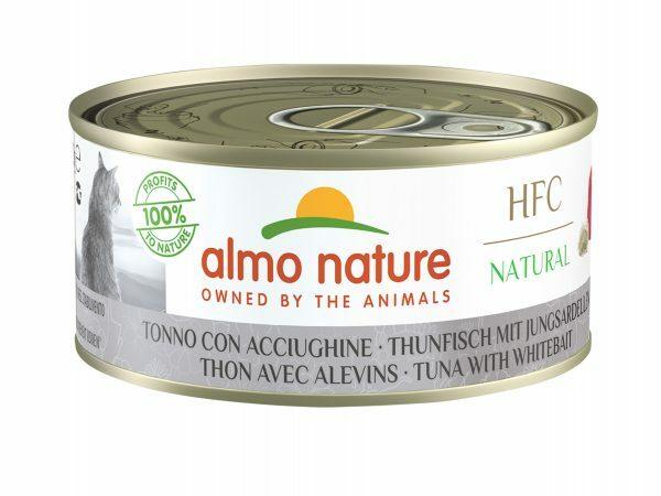 HFC Cats 150g Natural - Tonijn en witvis