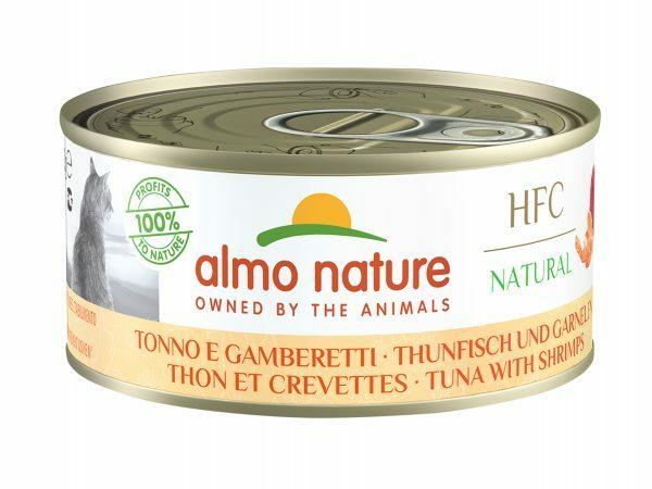 HFC Cats 150g Natural - Tonijn en garnaal