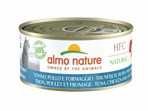 HFC Cats 150g Natural - Tonijn, kip en kaas