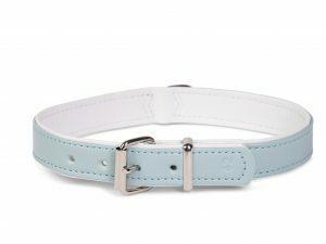 Halsband kunstle. Sunrise l.blauw32cmx12-14mm XS-S