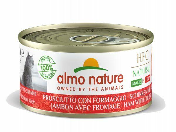 HFC Cats 70g Natural - Ham met parmezaan