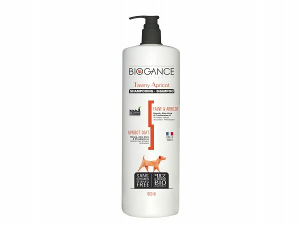 BIOGANCE hond shampoo geel-bruine vacht 1 L