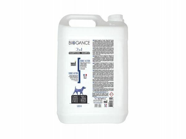 BIOGANCE hond shampoo dubbele werking 5 L