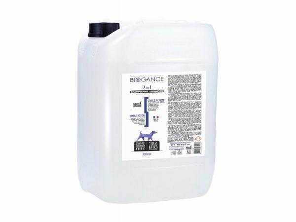 BIOGANCE hond shampoo dubbele werking 20L