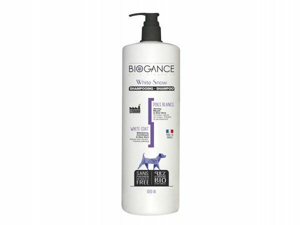 BIOGANCE hond witte vacht shampoo 1 L
