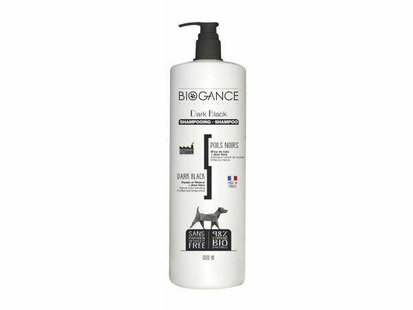 BIOGANCE hond zwarte vacht shampoo 1 L