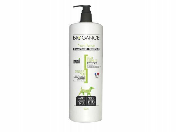 BIOGANCE hond gevoelige huid shampoo 1 L