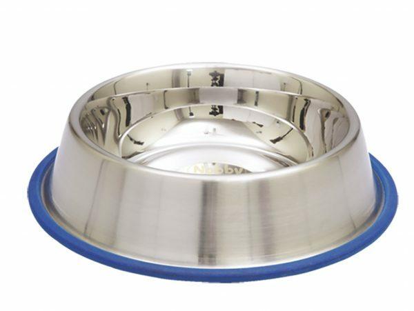 Eetbak inox antislip 23cm 0,85L