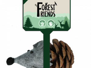 Forest Friends Mouse Grey