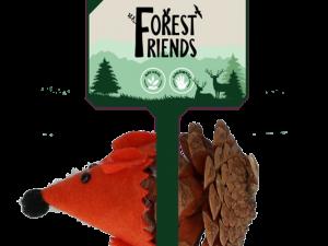 Forest Friends Mouse Orange