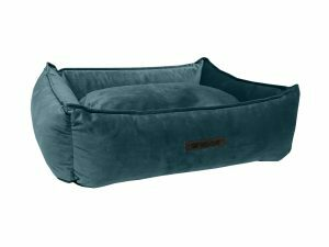 Wooff hondenmand Cocoon Velours Petrol 70x60x20cm