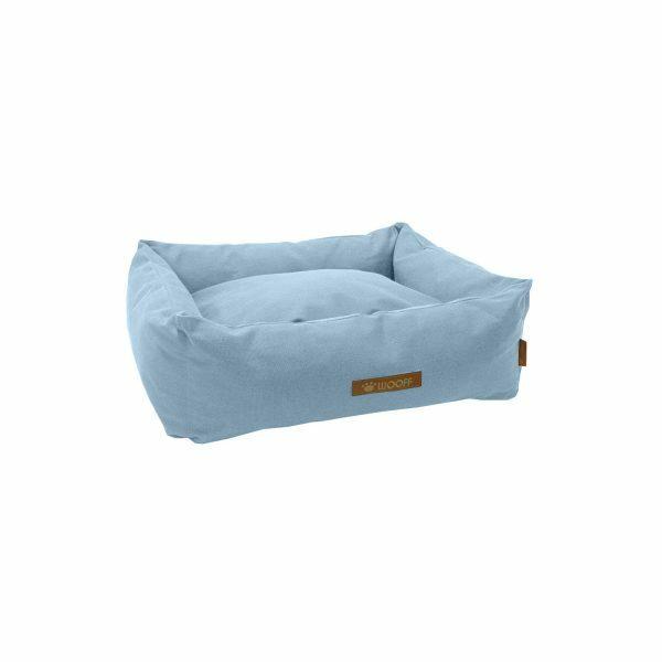 Wooff hondenmand Cocoon Vintage Zacht Blauw 60x40x18cm