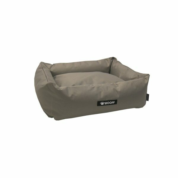 Wooff hondenmand Cocoon All Weather Taupe 60x40x18cm