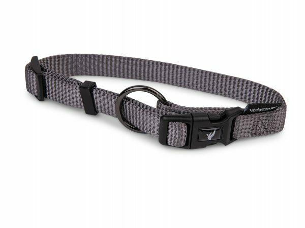 Halsband Classic Nylon taupe 50-66cmx25mm XL