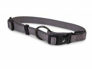 Halsband Classic Nylon taupe 30-46cmx15mm M