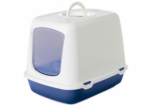 Toilethuis Oscar blauw 50x37x39cm