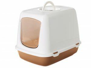 Toilethuis Oscar bruin 50x37x39cm