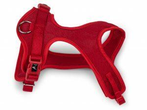Harnas Comfort Mesh rood 45cm S