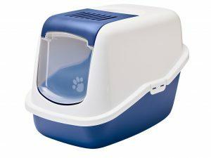 Toilethuis Nestor blauw 56x39x38,5cm
