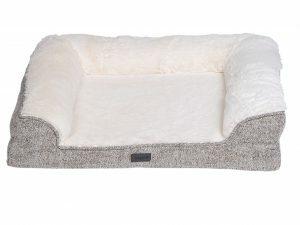 Sofa bed Alys beige/wit 70x58x18cm