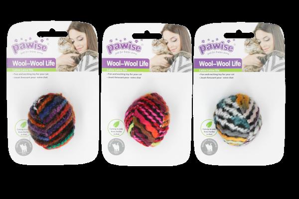 Pawise Meowmeow life - wool ball