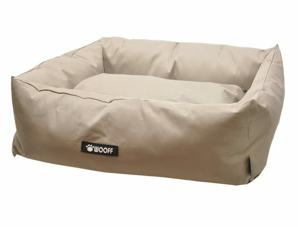 Hondenmand Wooff Cocoon taupe 115Xx100x25cm