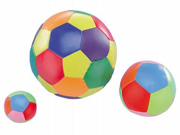 Softbal veelkleurig 10cm