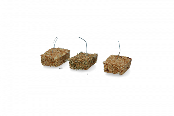 Birrdeeez Budgie Treat Nut/Lucerrn/Berrie