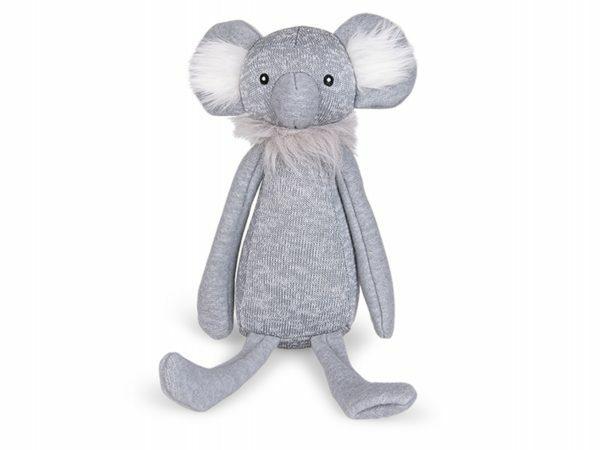 Speelgoed hond gebreid koala Kim 38cm