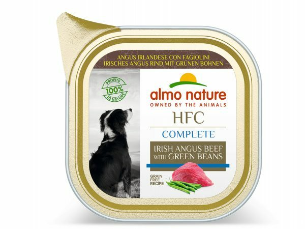 HFC Dogs 85g Complete Ierse Angus rund met bonen