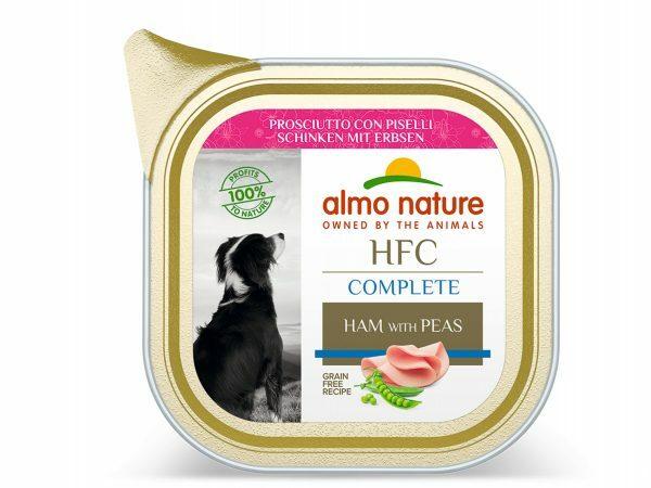 HFC Dogs 85g Complete Ham Met Erwten