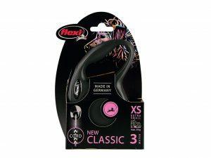 Flexi Classic Cat XS (koord 3m) roze