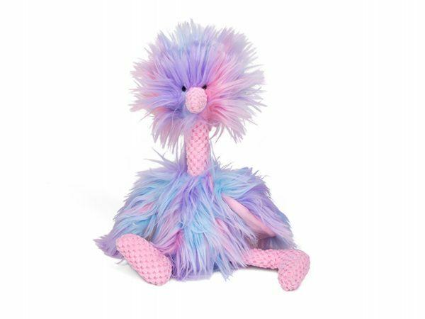 Speelgoed hond pluche struisvogel 37cm