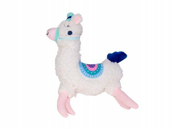 Speelgoed hond pluche Eenhoorn lama 32cm