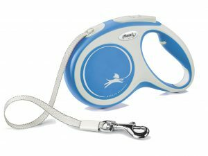 Flexi New Comfort M (riem 5m) blauw