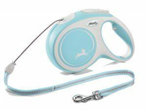 Flexi New Comfort M (koord 8m) lichtblauw