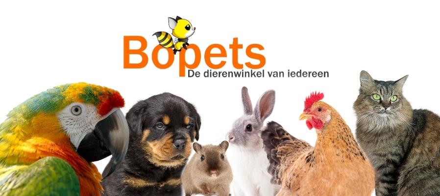 Bopets de dierenwinkel voor alle dieren
