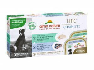 HFC Dogs 4x85g Complete Multipack - Vis