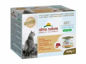 HFC Cats 4x50g Natural Megapack - Tonijn Garnaal