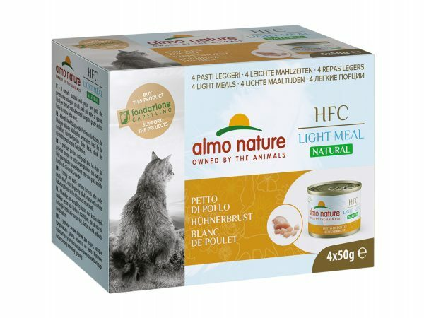 HFC Cats 4x50g Natural Megapack Kippenwit