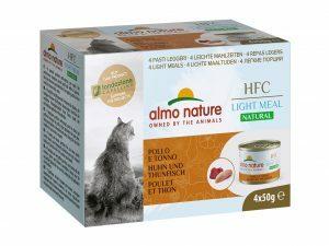 HFC Cats 4x50g Natural Megapack Kip Tonijn
