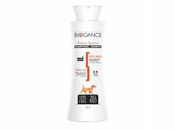 BIOGANCE hond shampoo geel-bruine vacht 250ml