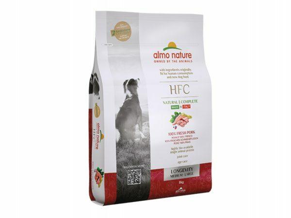 HFC Dry Dogs 8Kg M-L Longevity - Varken
